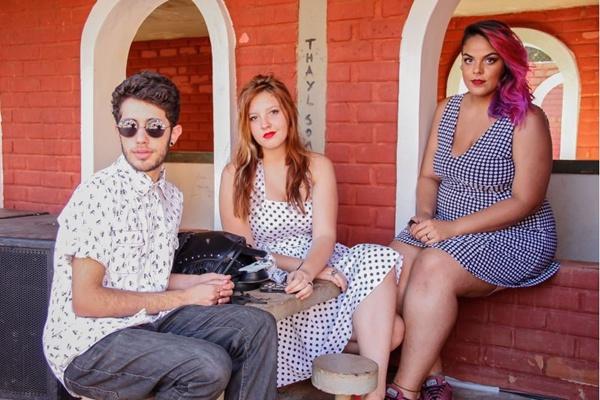 Júlio Fernandes, Bianca Andares e Estela Marques (Romulo Juracy/Esp. CB/D.A Press)