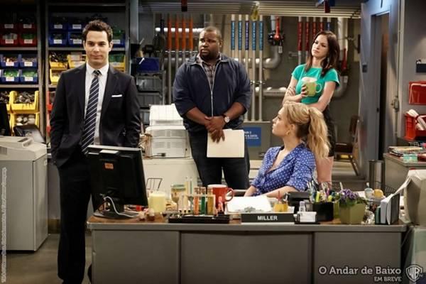 O andar de baixo: mal estreou e tem a segunda temporada confirmada  (Warner/Divulgação)