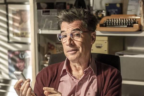 Personagem Téo, interpretado por Paulo Betti, na Novela Império (Renato Rocha Miranda/Divulgação)