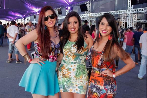 Camila Fleury, Marianna Trindade e Liliane Mituiti ( Romulo Juracy/Esp. CB/D.A Press)