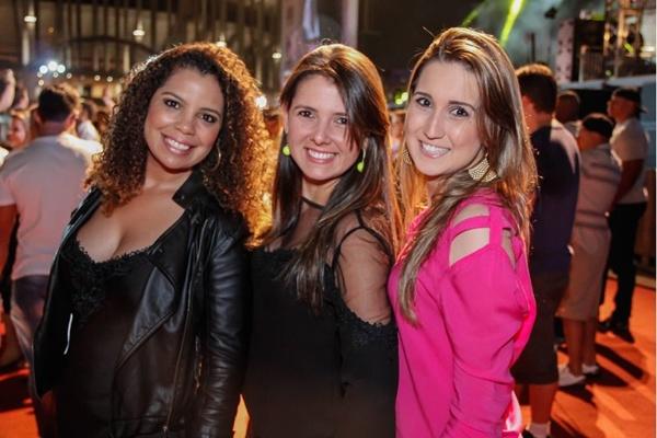 Flávia Miranda, Renata Marinho e Mônica Reis ( Romulo Juracy/Esp. CB/D.A Press)