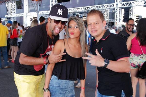 Rubens Luis, Loyane Carvalho e Rodrigo Gonçalves ( Romulo Juracy/Esp. CB/D.A Press)