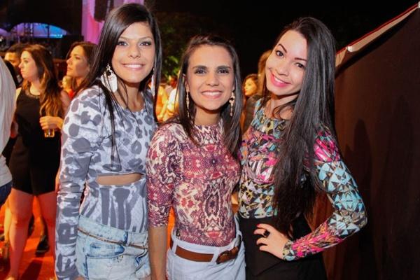 Sara Santos, Amanda Prado e Fernanda Guimarães ( Romulo Juracy/Esp. CB/D.A Press)
