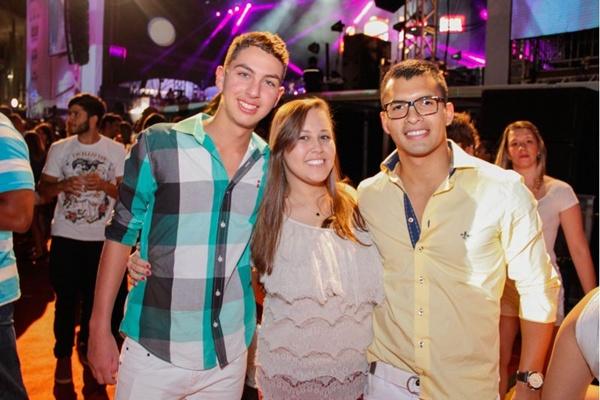 Weuller Nogueira, Priscila Silvério e Danilo Nascimento ( Romulo Juracy/Esp. CB/D.A Press)