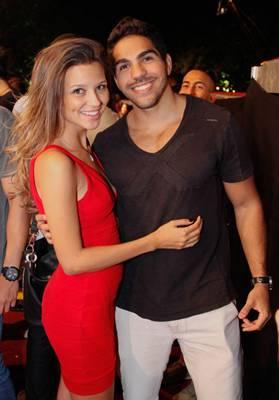 Bruna Samir e Tiago de Matos ( Romulo Juracy/Esp. CB/D.A Press)