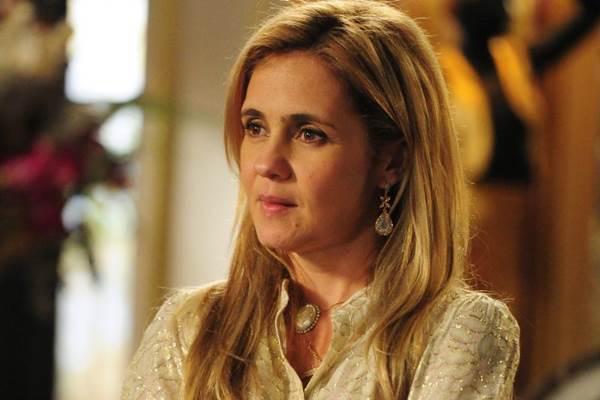 Adriana Esteves volta às novelas como malvada (Alex Carvalho/CGCOM)