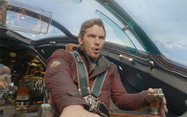Chris Pratt vive Peter Quill, o Senhor das Estrelas, em 'Guardiões da Galáxia' (Marvel/Divulgação)