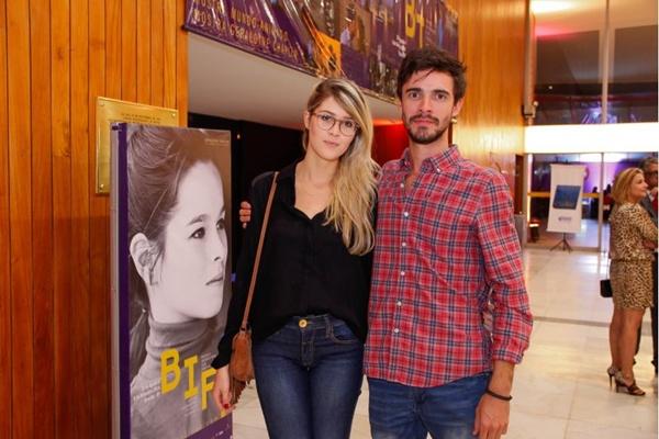 Bárbara Martinez e Rogério de Castro (Romulo Juracy/Esp. CB/D.A Press)