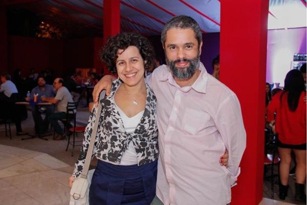 Karin Teixeira e Denis Rodrigues (Romulo Juracy/Esp. CB/D.A Press)