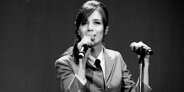 Marjorie Estiano durante turnê (Fernando Duefel/Divulgação)
