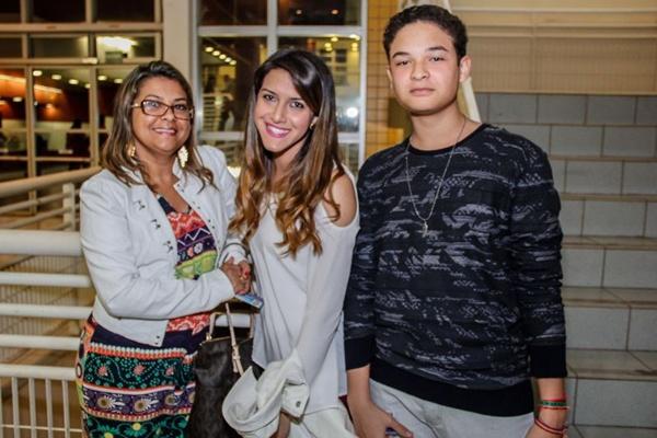 Ana Lúcia Fernandes, Layra de Souza e Alexandre Fernandes (Romulo Juracy/Esp. CB/D.A Press)
