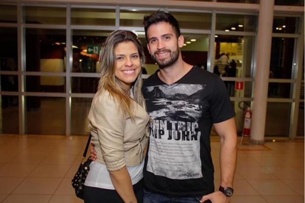 Camila Benac e Carlos Gusmão (Romulo Juracy/Esp. CB/D.A Press)
