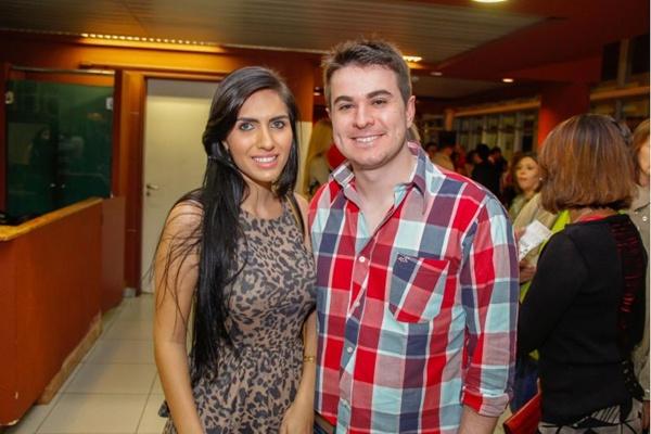 Daniele Santana e Guilherme Grande (Romulo Juracy/Esp. CB/D.A Press)
