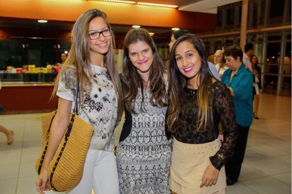 Natália Ribeiro, Larissa Guimarães e Andreza Rinaldo (Romulo Juracy/Esp. CB/D.A Press)