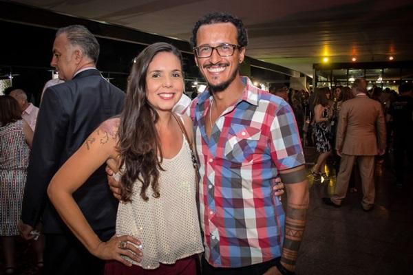 Aline Bacelar e Arthur Monteiro ( Romulo Juracy/Esp. CB/D.A Press)