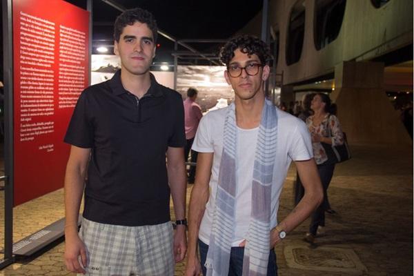 Filipe Ligabue e Pedro Sena ( Romulo Juracy/Esp. CB/D.A Press)