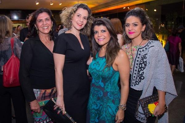 Ireny Poubel, Izaura Cruz, Antonieta Silva e Deyse Santarém ( Romulo Juracy/Esp. CB/D.A Press)