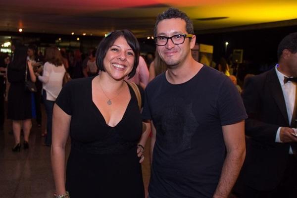Mayra Cunha e Luis Reyes (Romulo Juracy/Esp. CB/D.A Press)