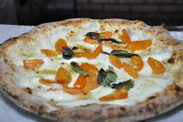 A pizza Giallo fica na Baco até domingo (André Violatti/Esp. CB/D.A Press)