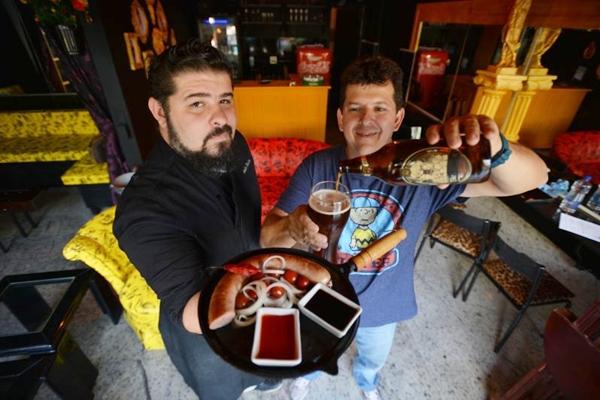 André Batista e Aylton Tristão: amizade rende frutos gastronômicos  (Gustavo Moreno/CB/D.A Press)