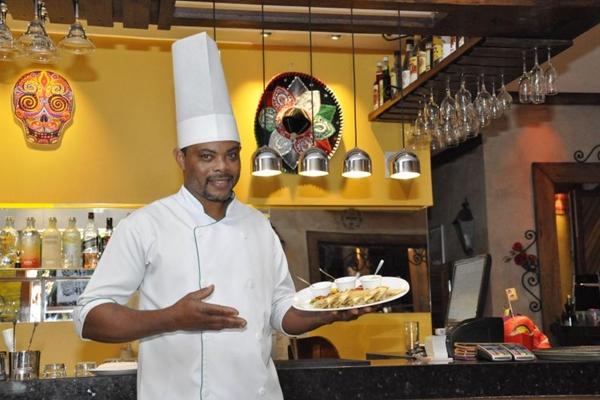 Valdo de Jesus criou um prato com pimenta e peixe à mexicana  (André Violatti/Esp. CB/D.A Press)
