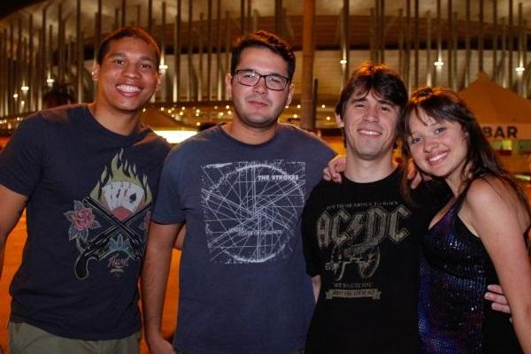 Ericsson Ferreira, Anderson Murilo, Lázaro Neto e Heloisa Polastro (RomuloJuracy/Esp. CB/D.A Press)