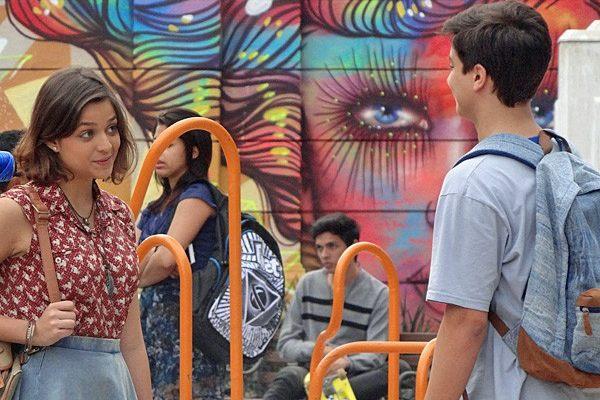 Mari e Jeff conversam e decidem ser apenas amigos, em Malhação (TV Globo/Divulgação)