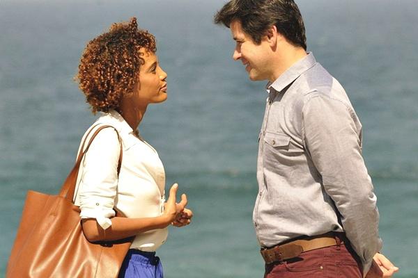 Verônica e Jonas  (TV Globo/Divulgação)