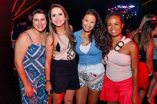 Dayane Cruz, Ângela Oliveira, Izabella Barbosa e Camila Pedroso  ( Romulo Juracy/Esp. CB/D.A Press)