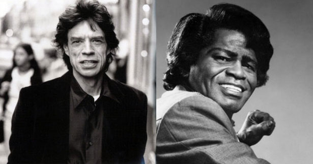 (No documentário, Jagger explora vida e obra de James Brown)