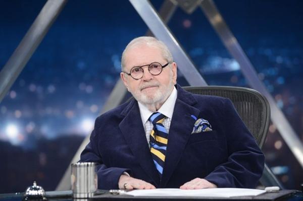 Jô Soares, humorista e apresentador (Zé Paulo Cardeal/TV Globo)