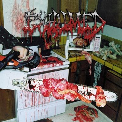 Em 1998, a banda Gore Metal, lançou seu álbum Exhumed, com a capa do álbum bem ao estilo death metal (Reprodução/Internet)