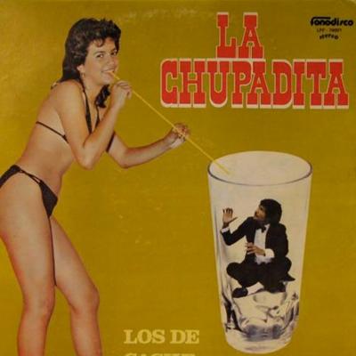 La chupadita foi o álbum lançado em 1984, do grupo Los De Caché, conhecidos por seu estilo 'música tropical' (Reprodução/Internet)