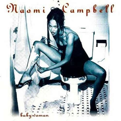 A top model Naomi Campbell, lançou em 1994, o álbum Babywoman (Reprodução/Internet)