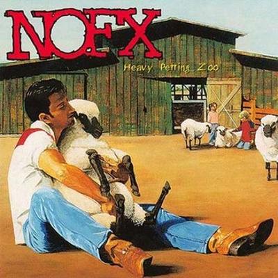 A banda norte-americana de punk rock californiano NOFX, lançou em 1996 o álbum Heavy Petting Zoo (Reprodução/Internet)