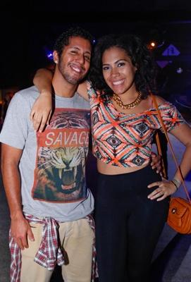 André Albuquerque e Gisele Dias (RomuloJuracy/Esp. CB/D.A Press)