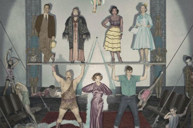 Jessica Lange, Sarah Paulson e Evan Peters retornam para a nova temporada (FX/Divulgação)