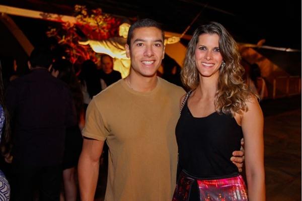 Daniel Farias e Ana Virginia Castelo (RomuloJuracy/Esp. CB/D.A Press)