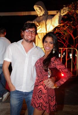 Bernardo Petriz e Bruna Souza (RomuloJuracy/Esp. CB/D.A Press)