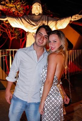 Victor Cavalcanti e Clarissa Camanho (RomuloJuracy/Esp. CB/D.A Press)