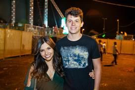 Luiza Nogueira e Rodolfo Araujo (Felipe Menezes/CB/D.A Press)