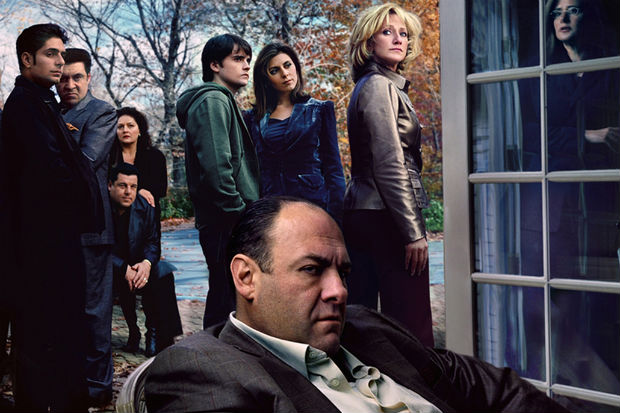 Série mostra o cotidiano de mafioso Tony Soprano e família (HBO/Divulgação)