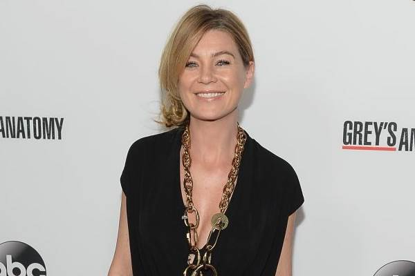 Ellen interpreta Meredith Grey no seriado Grey's Anatomy ( Michael Buckner/Getty Images/AFP)