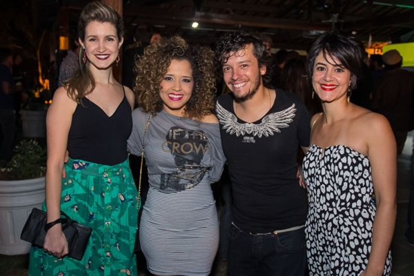 Isabella Veloso, Luciana Amaral, Carlos Valença e Juliana Sá (Romulo Juracy/Esp. CB/D.A Press)