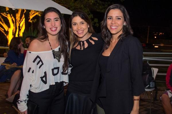 Julia Bianchetti, Ana Paula Ramalho e Clarice Dewes (Romulo Juracy/Esp. CB/D.A Press)