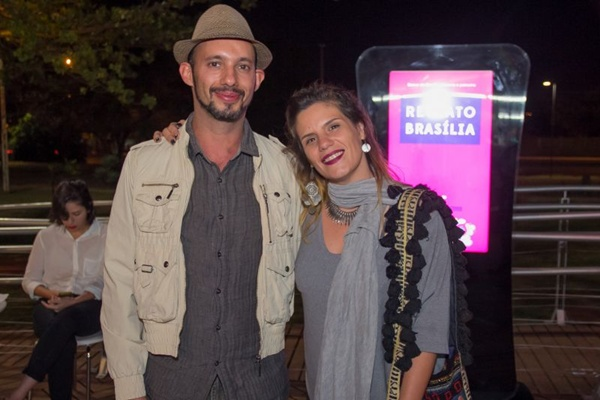 Renato Acha e Fernanda Ferrugem (Romulo Juracy/Esp. CB/D.A Press)