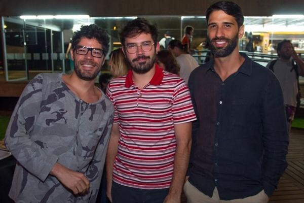 Tiago Barbosa, Matheus Vinhal e Ricardo Torres (Romulo Juracy/Esp. CB/D.A Press)