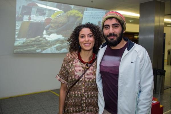 Dirley Rocha e Luis Braga (Romulo Juracy/Esp. CB/D.A Press)