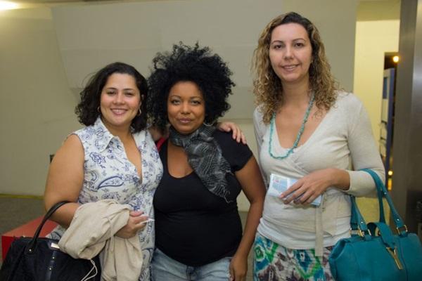 Livia Santana, Misha Rosa e Mariana Souza (Romulo Juracy/Esp. CB/D.A Press)