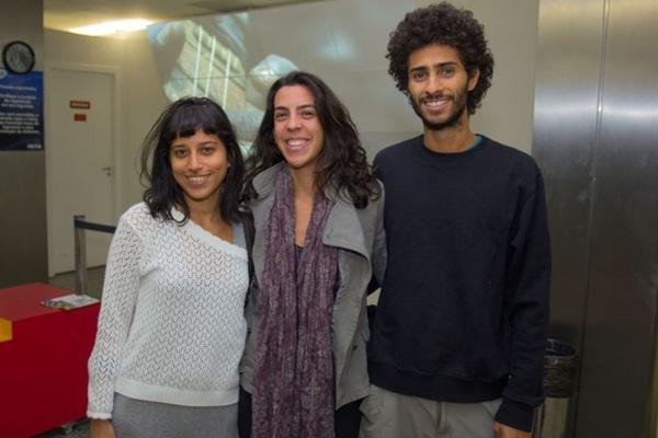 Luisa Loba, Pâmela Teixeira e Gabriel Rodrigues (Romulo Juracy/Esp. CB/D.A Press)